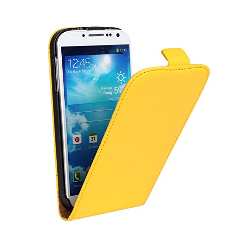 EximMobile Flipcase Handytasche Etui Tasche für Huawei Ascend P6 Gelb