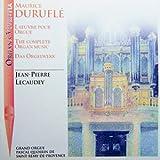 Duruflé: L'Oeuvre pour Orgue / The Complete Organ Works / Das Orgelwerk [UK Import]