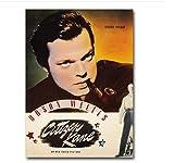 Citizen Kane Classic Film Kunst Poster Druck auf Leinwand