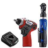 "ACDelco ARW1209-K14 G12 Series 12V Li-ion Cordless 3/8"" Rachet Wrench & Impact Wrench Combo Tool Kit"