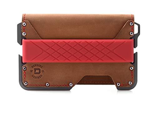 Dango D01 Dapper Bifold EDC Wallet - Made in USA - Genuine Leather,...