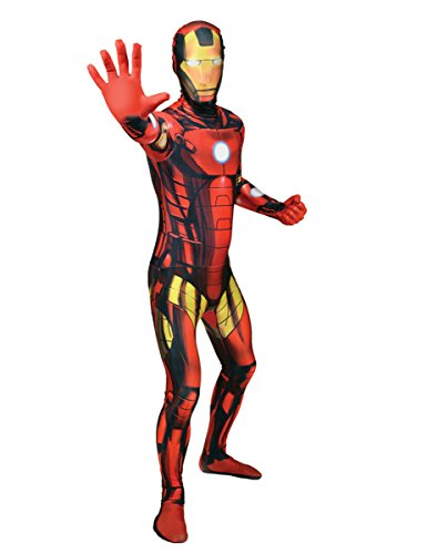 Costume Morphsuits Iron Man adulto