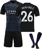 SXMY Fußballtrikot für Herren, City FC # 7# 10# 17# 20# 21# 26# 27# 47 Fußballtrikot 2021,...