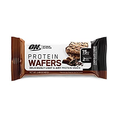 New! Optimum Nutrition High Protein Wafer Bars