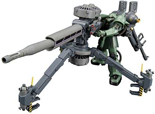 Bandai Hobby HGTB Zaku & Big Gun Anime Color Gundam Thunderbolt Building Kit (1/144 Scale)