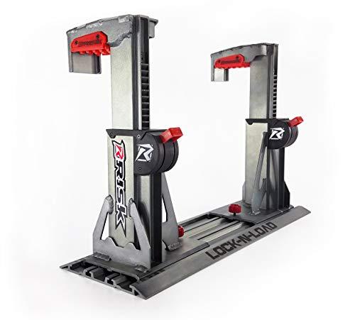 Risk Racing 00174 Silver Lock-N-Load PRO-Strapless Motocross Transport System
