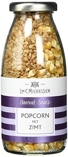 L.W.C. Michelsen Popcorn mit Zimt, 2er Pack (2 x 215 g)