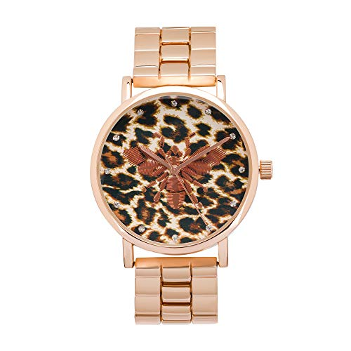Rocawear Womens Quartz Analog Watch with Earrings Gift Set