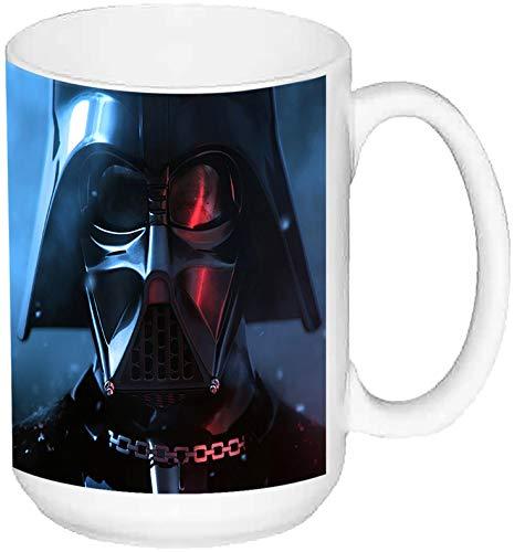 La Guerra De Las Galaxias Star Wars Darth Vader A Taza Grande Ceramica 15 oz ≈ 443 ml