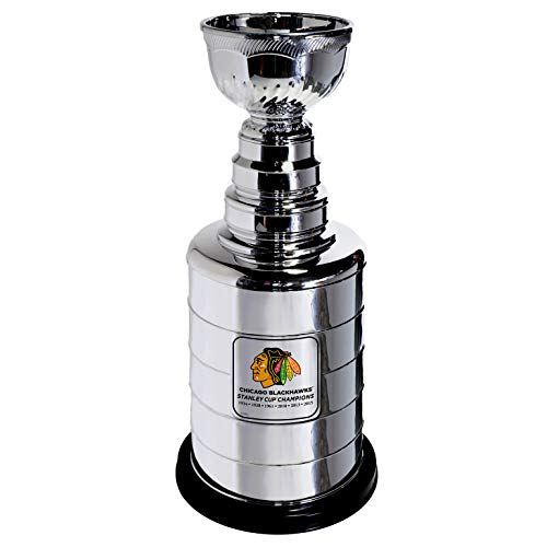 Chicago Blackhawks 6 Time Stanley Cup Champions Officially Licensed 25 Inch Replica Stanley Cup Trophy