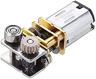 Atfipan GM12YN20-3DP DC12V 11RPM Right Angle Output Metal Gearbox Micro Gear Motor for 3D Pen