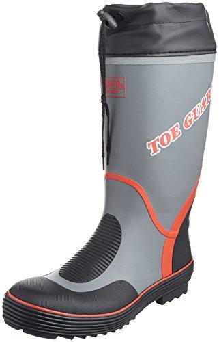 [ミドリ安全] 安全長靴 先芯入り MPB5000N グレイ LL(26.5~27.0cm)(27cm)