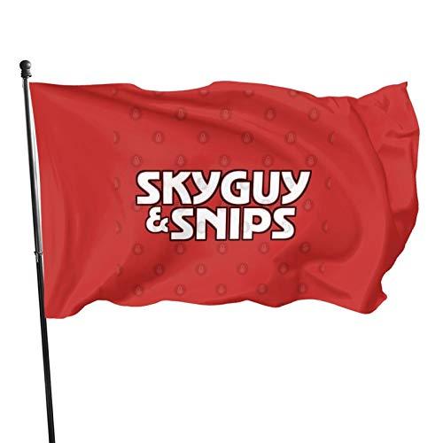 Nessuno/Brand Skyguy Amp; Snips - Starsky Amp; Hutch Parodia Bandiera Banner Bandiere