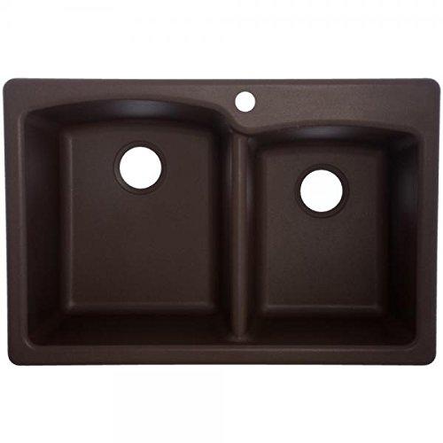 Franke EODB33229-1 Granite Offset Double Bowl...
