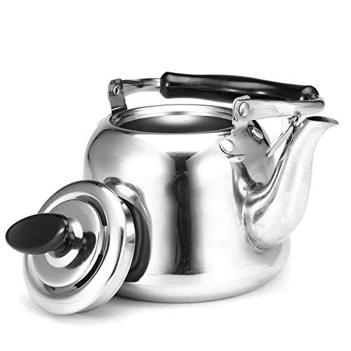 ClearloveWL Tetera, 1L Silba Hervidor De Agua Espesar Cocina De Inducción De...