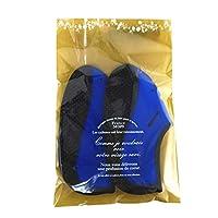 発熱ソックス 発熱王子 青 23.0-24.0 Lサイズ SC-112 発熱靴下 あったかい 冷え取り