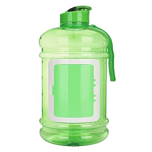 Lshbwsoif Botella de agua deportiva 2.2L deporte gimnasio entrenamiento deporte botella de agua BPA portátil hervidor de agua taza para la aptitud objetivos y al aire libre