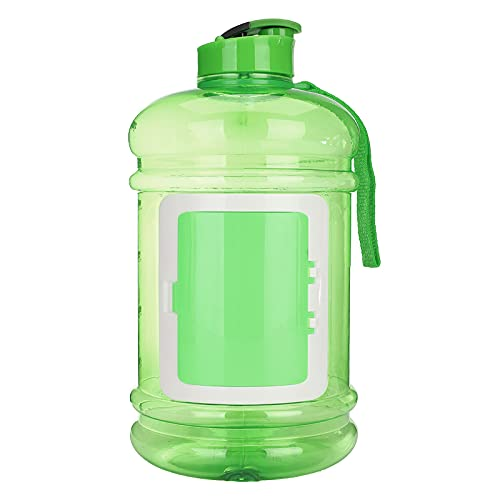 Botella de agua deportiva 2.2L deporte gimnasio entrenamiento deporte botella de agua BPA portátil hervidor de agua para deportes bicicleta correr senderismo yoga
