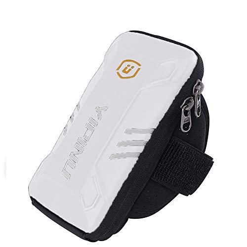 VLUNT Soporte para Teléfono para Correr Brazalete, Soporte para Teléfono Resistente Al Sudor para Correr, Compatible con Teléfono Celular De 5.0 -7.0 Soporte para Brazalete Deportivo