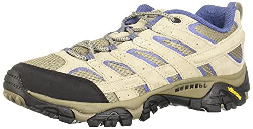 Merrell Women's Moab 2 Vent Hiking Shoe, Aluminum/Marlin, 8.5 W US