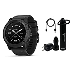 tactical smartwatch for military - Garmin Tactix Charlie Premium Tactical GPS Watch with TOPO Maps and Wearable4U Ultimate Power Pack Bundle