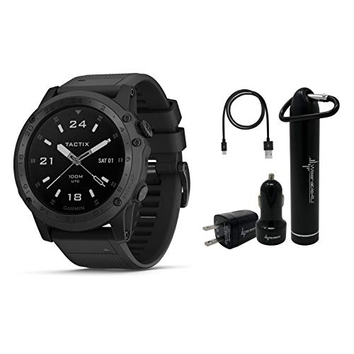 Discover Bargain Garmin Tactix Charlie Premium Tactical GPS Watch with TOPO Maps and Wearable4U Ulti...