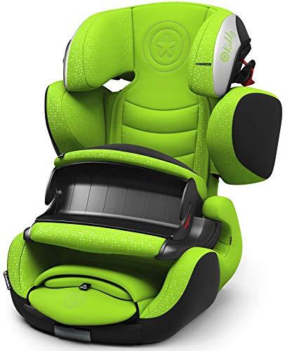 Kiddy Guardianfix 3 Siège auto pour enfant (Groupe 1/2/3) (de 9 mois à 12 ans) (env. 9 kg à 36 kg) avec Isofix | Collection 2019 | Vert Lizard