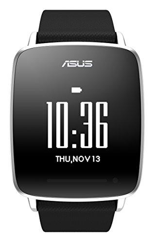 ASUS VivoWatch Orologio da Fitness, Cardiofrequenzimetro, Durata Batteria Fino a 10 Giorni, Nero/Antracite