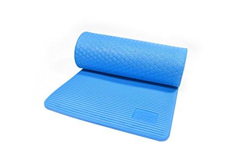 Sissel Superior Gymnastikmatte, blau, 180 x 60 x 1.5 cm