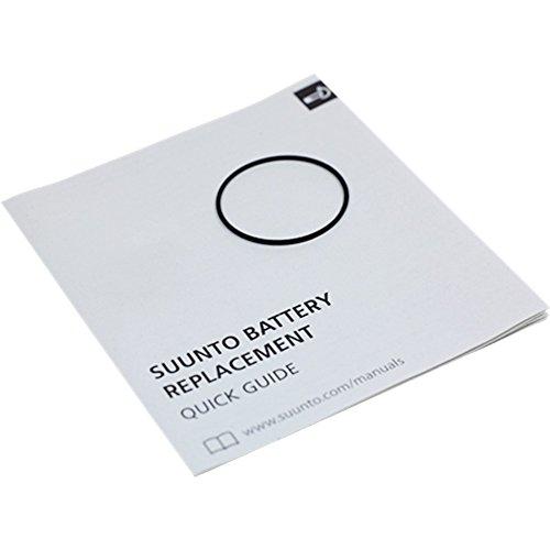 Suunto, Core/Essential Ersatzteile-Kit: O-Ring und Bildanleitung, Für Suunto Core, Essential, Lumi, T4, T3 und T1, SS023326000