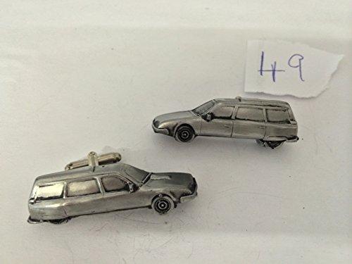 CX Kombi Citroen Oldtimer 3D-Manschettenknöpfe Zinn-Manschettenknöpfe ref49