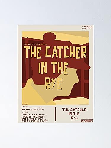"AZSTEEL Póster de la película ""Catcher In The Rye"" (11,7 x 16,5 cm)"