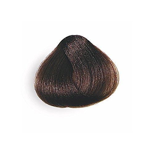 lungavita Color Tinta para pelo castaño claro N.4permanente sin amoniaco...