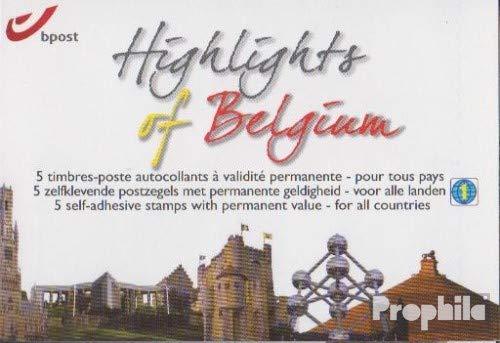 Prophila Collection Bélgica 4144-4148MH (Completa.edición.) cuadernillo de Sellos 2011 Lugares de interés (Sellos para los coleccionistas)