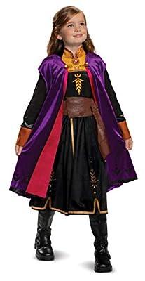 Disguise Disney Anna Frozen 2 Deluxe Girls' Halloween Costume