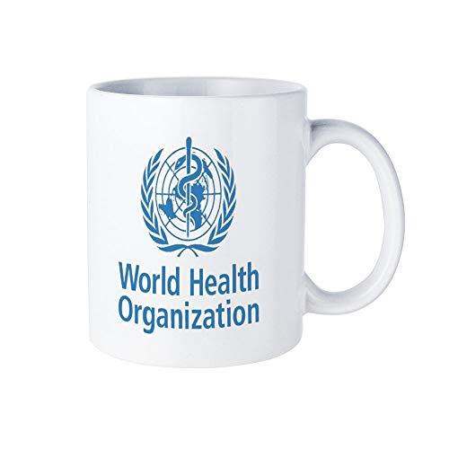 世界保健機関マグカップ おしゃれ セラミック コーヒーマグ 創意コップ かわいい ティーカップ 330ML
