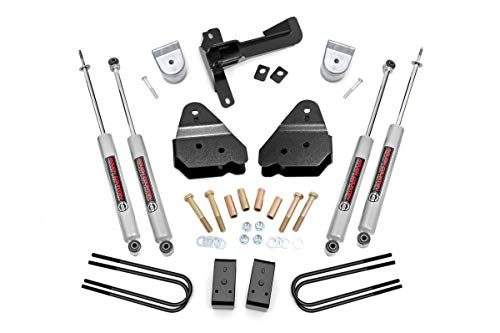Rough Country 3' Leveling Kit (fits) 2017-2020 Super Duty F250 4WD | N3 Shocks | Suspension System | 50220