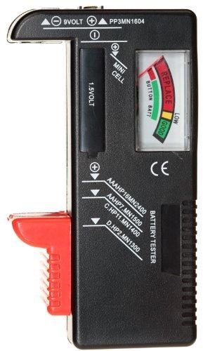 Eastvita Aa Aaa C D 9v Button Coin Universal Battery Tester Checker