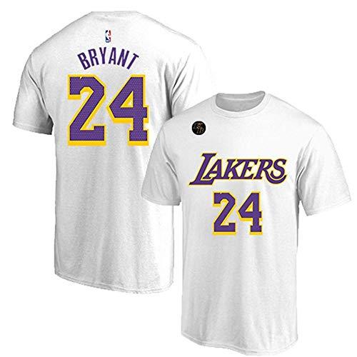 QKJD NBA Baloncesto Uniformes Camiseta de los Lakers Conmemo