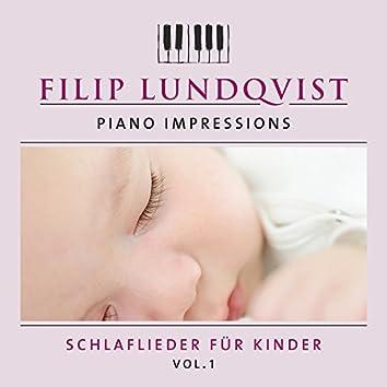 Piano Impressions: Schlaflieder für Kinder, Vol. 1