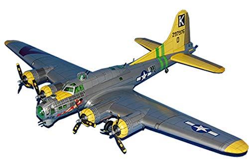 1:33 DIY 3D Flying Fortress Plane B-17G Boeing papieren model Papieren vliegtuig puzzelspel DIY vliegtuigmodel