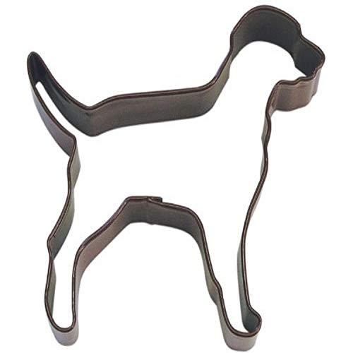 Labrador Retriver Dog 4 Inch Cookie Cutter Brown