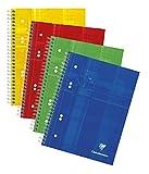 Clairefontaine 8576C - Cuaderno de anillas (A5, 90 g/m²), color azul