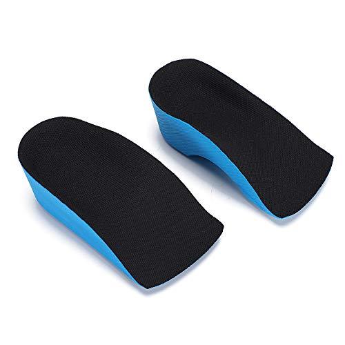 【𝐑𝐞𝐠𝐚𝐥𝐨】Inserciones de cojín para el talón que no dañan la piel, almohadilla para el talón de elevación, absorción de la transpiración para el levantamiento del calzado de soporte del(4CM) ⭐