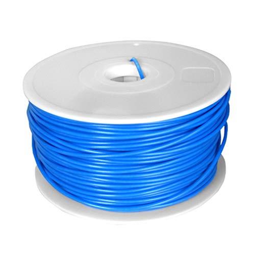 None Brand Filamento ABS para impresora 3D para repraper Rollo de 1 kg 10 m Longitud muestra 3 mm Azul Nocturno