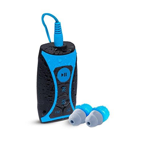 Waterfi 8GB Waterproof MP3 Player and FM Radio Swim Kit with...