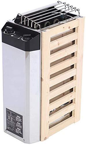 UIGJIOG Stufa per Sauna,Acciaio Inossidabile Riscaldatore Sauna,3KW Tipo di Controllo Interno Strumento di Riscaldamento per Sauna 220V