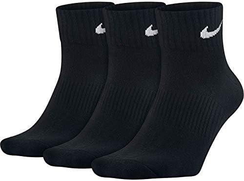 Nike Women's Everyday Max Cushion Training Crew Sock (3 Pair)