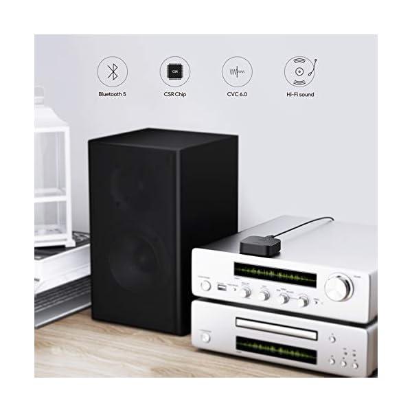 Bluetooth 5 Receiver Wireless Audio Music Adapter 4