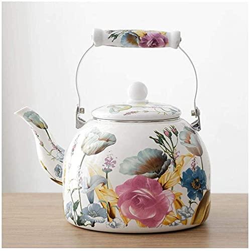 Czajnik elektryczny, Czajnik czajnik czajnik do kawy garnek wodny czajnik do kuchenki indukcyjnej płyty grzejnej lub pieca górne kuchenki piece gazowe białe duże 5L krem indukcyjny garnek